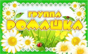 Эмблема -Ромашка-